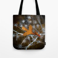 sparkle Tote Bags featuring Sparkle by Heidi Fairwood