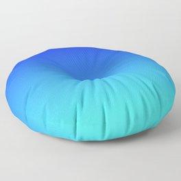 Caribbean Water Gradient Floor Pillow