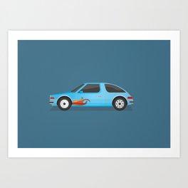 Mirthmobile Art Print