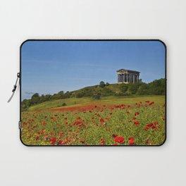 Penshaw Monument Poppys Laptop Sleeve