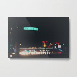 Las Vegas Boulevard ... Metal Print