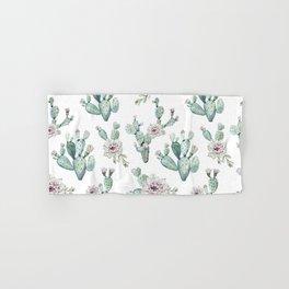 Cactus Pretty Pink + Green Hand & Bath Towel
