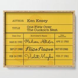 KEN KESEY (1962) Serving Tray