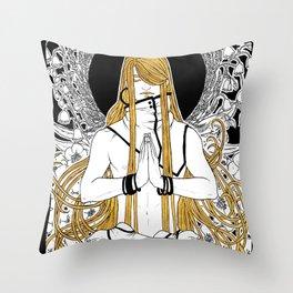 [Caelum Florescens] Gemini Throw Pillow