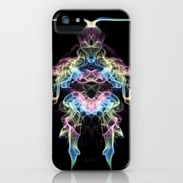 Rainbow Alien iPhone Case