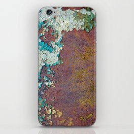 Paint mosaic iPhone Skin
