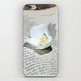 Flowers and the Canto iPhone Skin