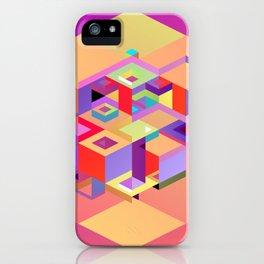 Cubic Inversion I iPhone Case