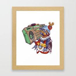 Tezca vs Hip Hop Framed Art Print