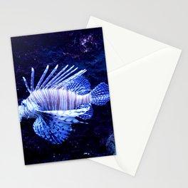 Sea World Lion Fish Stationery Cards