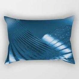 Phantasie in Blau 3 Rectangular Pillow