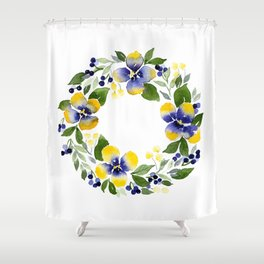 You're Such A Pansy Shower Curtain