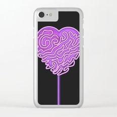 Lollipop Heart Clear iPhone Case