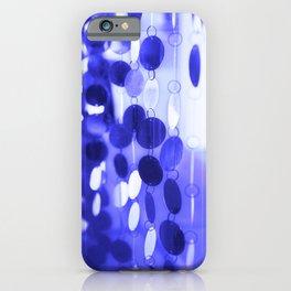 GLAM CIRCLES #Blue #2 iPhone Case