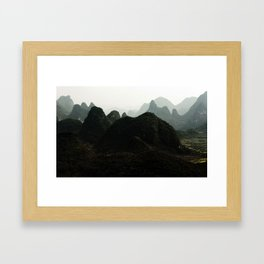mystical China Framed Art Print