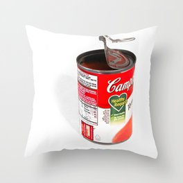 Ode To Warhol Throw Pillow