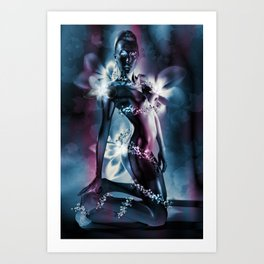 "GENTIAN ""Truth and Vision"" Art Print"