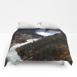 Grand Canyon of theYellowstone Comforters