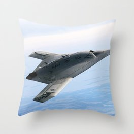 Northrop Grumman Stealth Fighter Throw Pillow