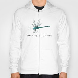 Damselfly in Distress Hoody