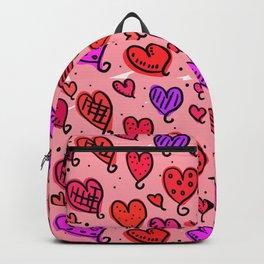 Love Heart Doodles Backpack