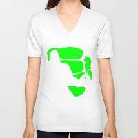 hulk V-neck T-shirts featuring Hulk by Sport_Designs