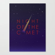 Night of the Comet Canvas Print