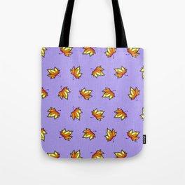 Stylish vintage interior design and textile design botanical pattern on violet Tote Bag