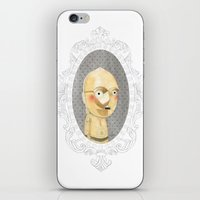 c3po iPhone & iPod Skins featuring C3PO by Jacqueline Hudon Illustrations