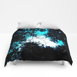 Color Bleed Leaves Comforters