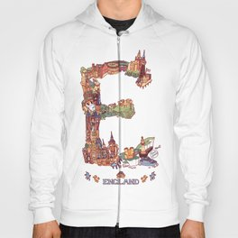 E is for England Hoody