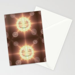 Midday sun smile Stationery Cards