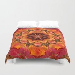 Serviceberry mandala tapestry II Duvet Cover