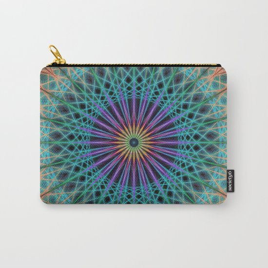 Round fantasy structure Carry-All Pouch
