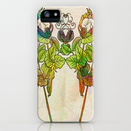 Grow Like Peas iPhone Case