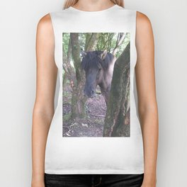 I can (hor)see you! Biker Tank