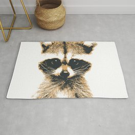 Raccoon Philosophy Rug