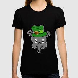 Leprechaun Tapir- St. Patricks Day T-shirt