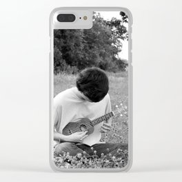 Nature Is The Stage Clear iPhone Case