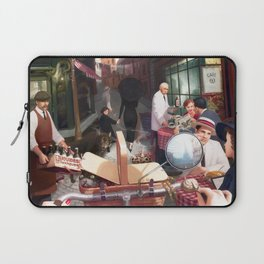 Rue The Day by Jeff Lee Johnson Laptop Sleeve