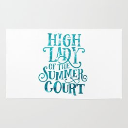 High Lady Summer Court ACOTAR Rug