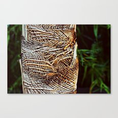 Burlap Tree Canvas Print
