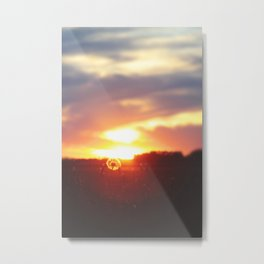 The Sunrise—Sire—compelleth Me— Metal Print