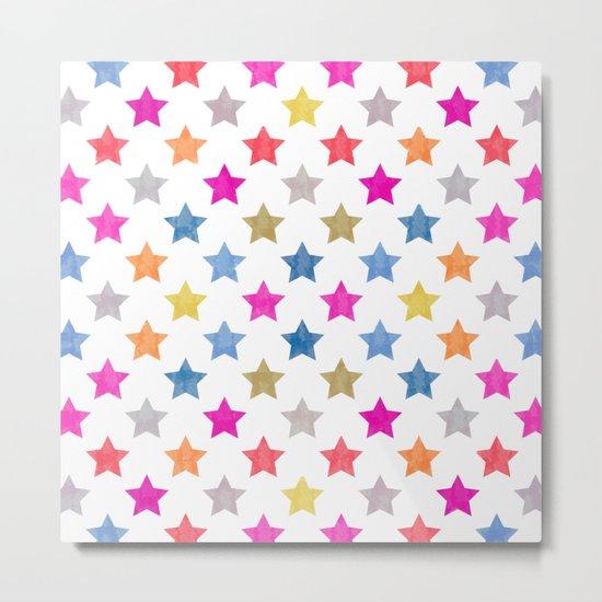 Colorful Star III Metal Print