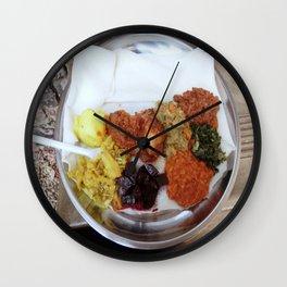 South African Food Platter Wall Clock