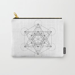 Sacred Geometry Print 3 Carry-All Pouch