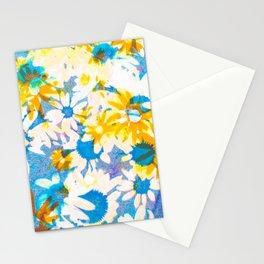 floral batik Stationery Cards