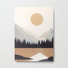 Minimalistic Landscape V Metal Print