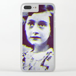 Anna Frank Clear iPhone Case