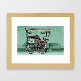 FRUIT STOP Framed Art Print
